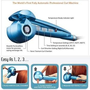 eb2389092 Babylisspro Other - Babylisspro Nano Titanium Steam Tech MiraCurl